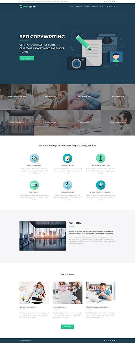 Website Design Template 63372 - success