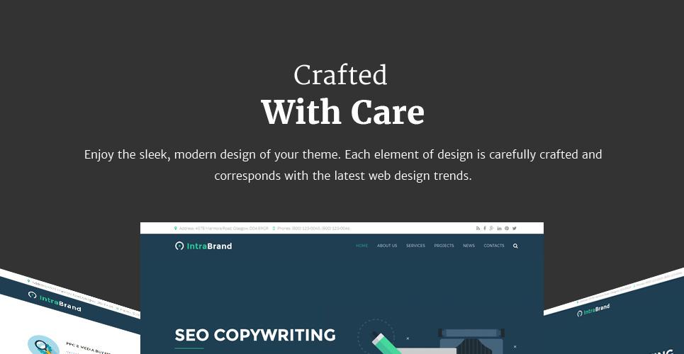 Website Design Template 63372 - consulting advertisement consultation success
