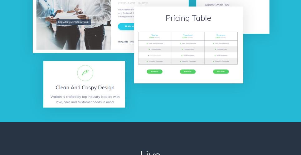 Walton - Business Consulting WordPress Theme