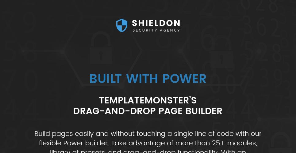 Shieldon - Security Agency Responsive WordPress Theme