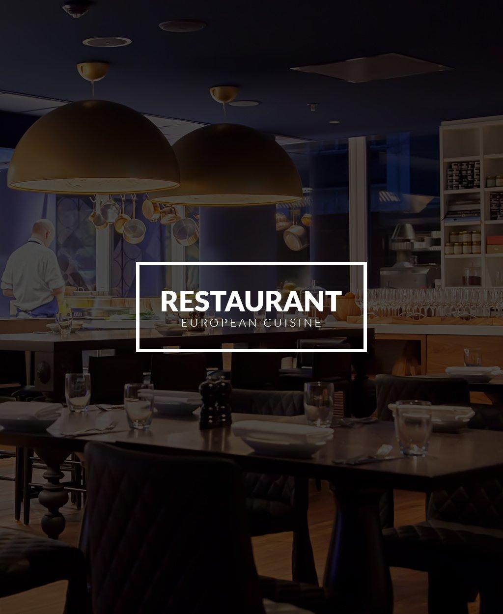 Адаптивный Joomla шаблон №63342 на тему европейский ресторан - скриншот