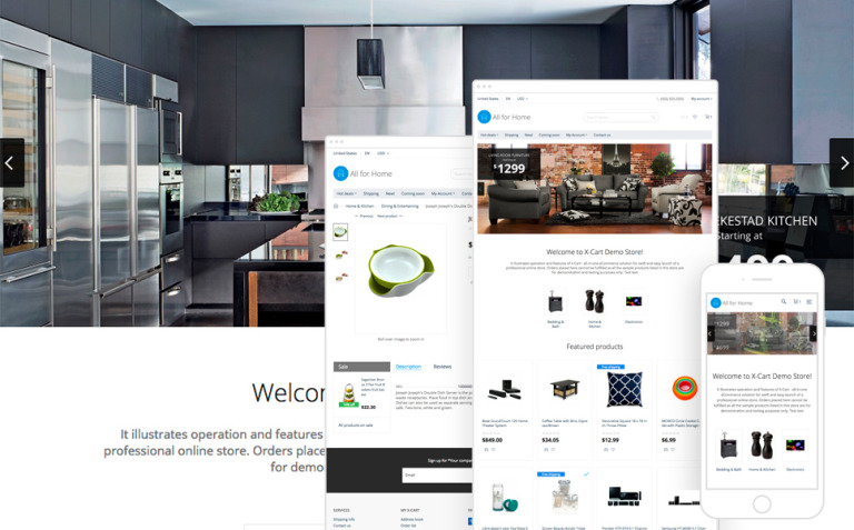 All for Home X-Cart Template New Screenshots BIG