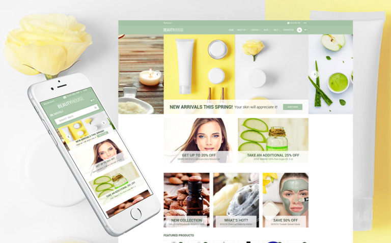 BeautyHouse - Cosmetics Store Shopify Theme New Screenshots BIG