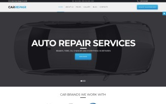CarRepair - Auto Service Center Joomla Template
