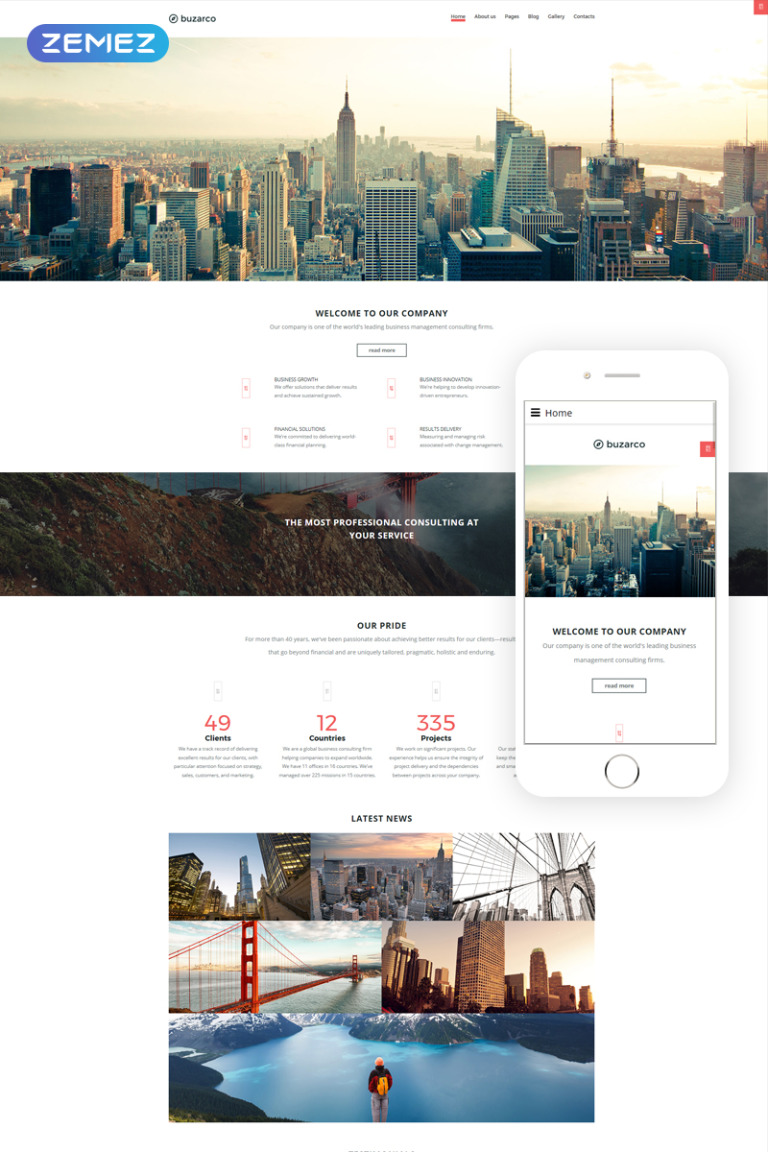 Consulting Responsive Joomla Template New Screenshots BIG