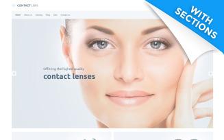 Contact Lens - Lens Store Shopify Theme