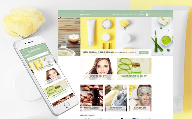 Cosmetics Store Responsive Shopify Theme New Screenshots BIG