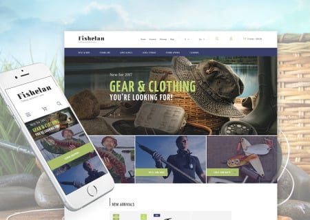 Fishing Equipment Responsive Prestashop