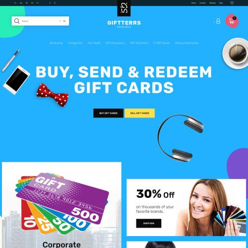 Giftterrs  - Responsive PrestaShop Template