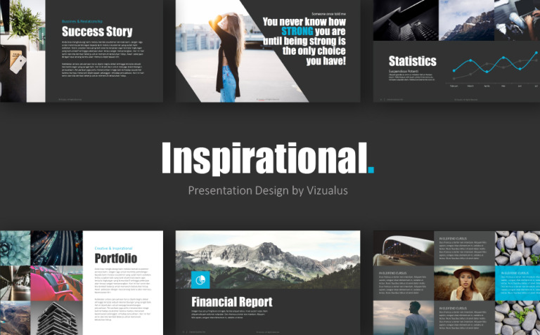 Inspirational PowerPoint Template New Screenshots BIG