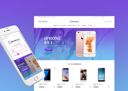 Mobile Phones & Accessories Prestashop