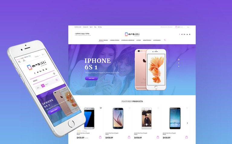 Mobilli - Mobile Phones & Accessories PrestaShop Theme New Screenshots BIG