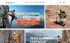 "Modello Magento Responsive #63398 ""MountainLife - Climber's Gear"" New Screenshots BIG"