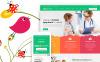 Modello WordPress Responsive #63374 per Un Sito di Pediatra New Screenshots BIG