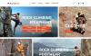 """MountainLife - Equipement pour grimpeur"" thème Magento adaptatif New Screenshots BIG"