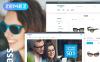 Reszponzív Szemüvegek témakörű  Magento sablon New Screenshots BIG