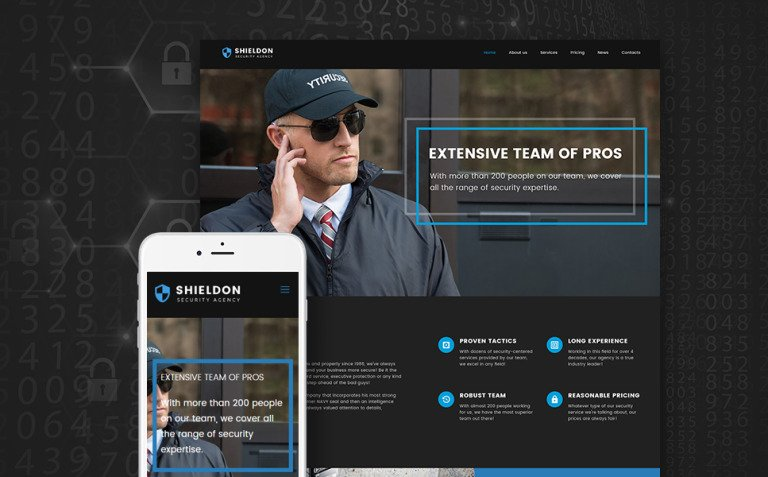 Shieldon - Security Agency Responsive WordPress Theme New Screenshots BIG