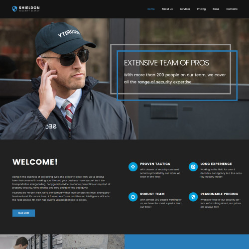 Shieldon - Responsive WordPress Template