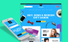 """Template PrestaShop Responsive #63340 """"Giftterrs - Gift Cards for Any Purpose"""" New Screenshots BIG"""