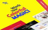 """WordPress шаблон """"Magic - Многоцелевая и Креативная"""""""