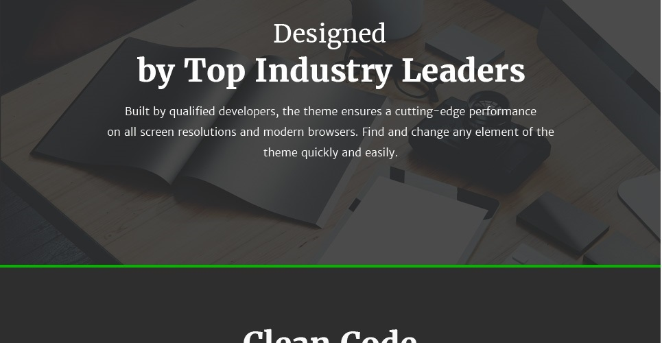 Website Design Template 63401 - industry technical clients customer support automate flow services flex profile principles web products technol