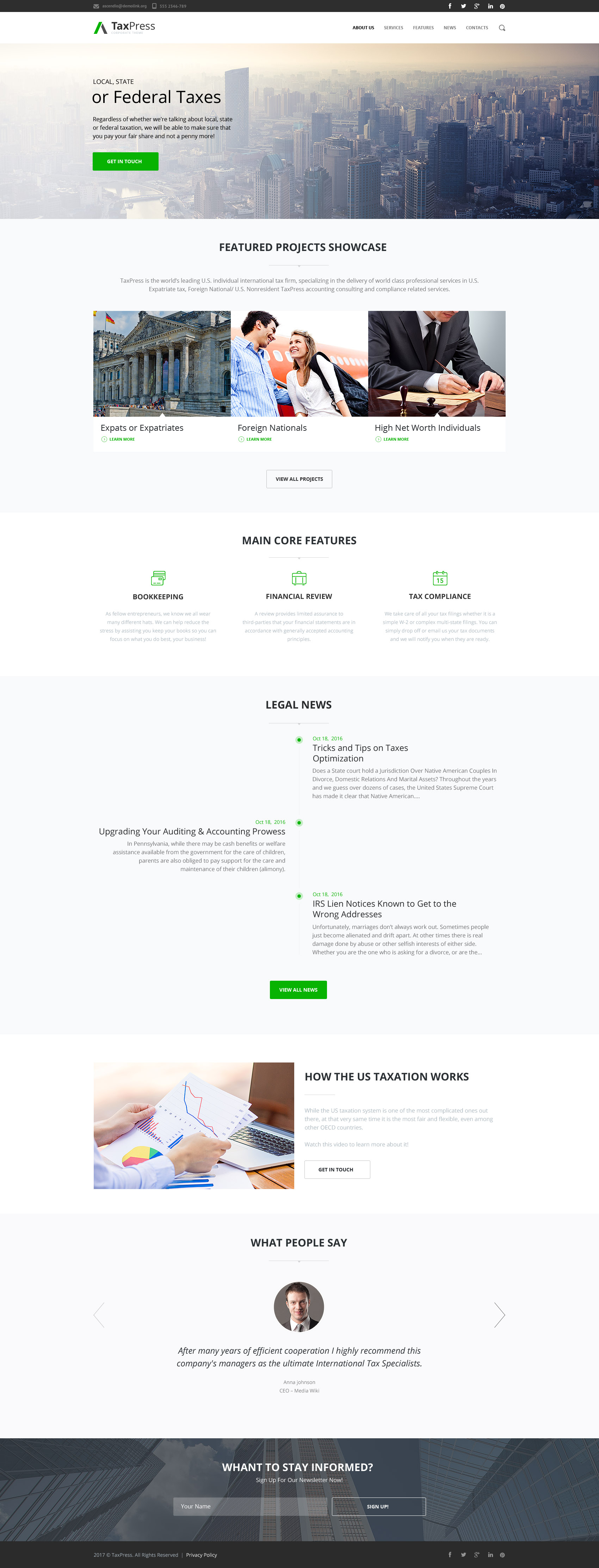 Website Design Template 63401 - automate flow services flex profile principles web products technol