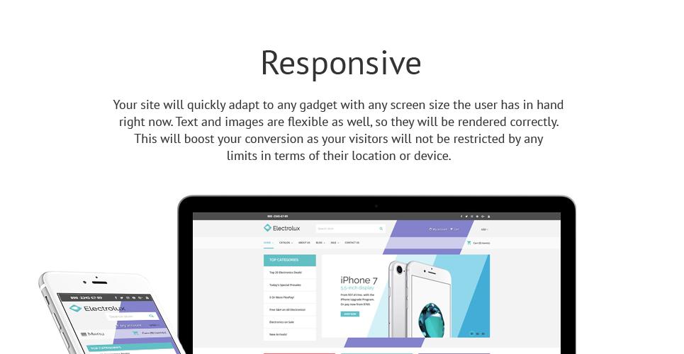 Electrolux - Electronics Store Responsive Shopify Theme