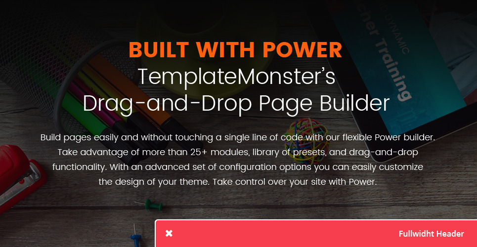 Photo Editing Application WordPress Theme