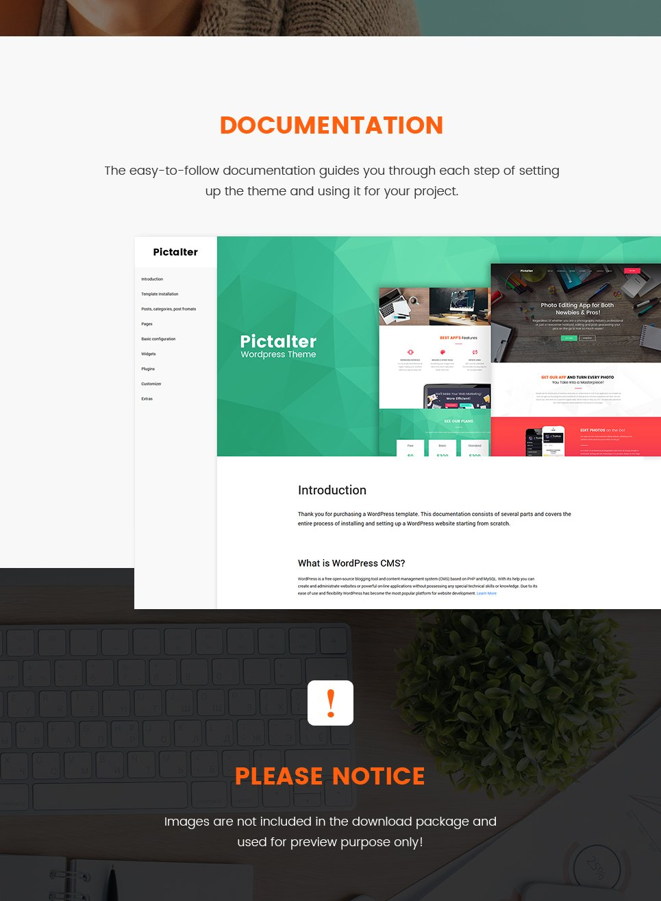 Photo editing application landing page wordpress theme pictalter is a catchy and modern design built for a photo editing mobile app website the theme is preferred among startup owners mobile app developers and pronofoot35fo Image collections