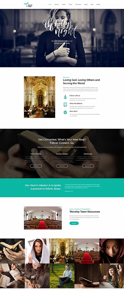 Website template 63456