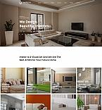 Интерьер и мебель. Шаблон сайта 63460