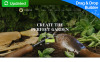 Адаптивний MotoCMS 3 шаблон на тему дизайн саду New Screenshots BIG