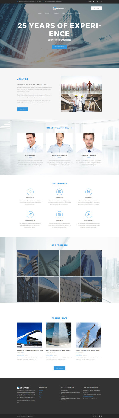 Architect Services Portfolio