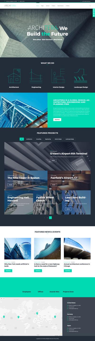 Architera - Architecture Firm Responsive