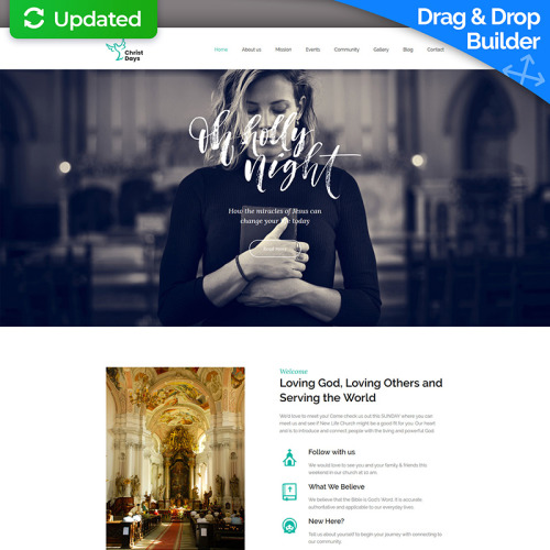 Christ Days  - Church Template based on Bootstrap