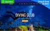 Deepdive - Sports & Outdoors & Diving Moto CMS 3 Template New Screenshots BIG