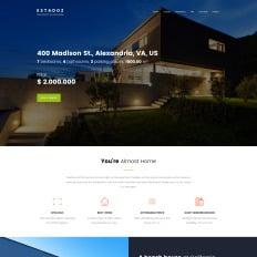 Real Estate Agency Responsive WordPress Theme - Real estate template wordpress