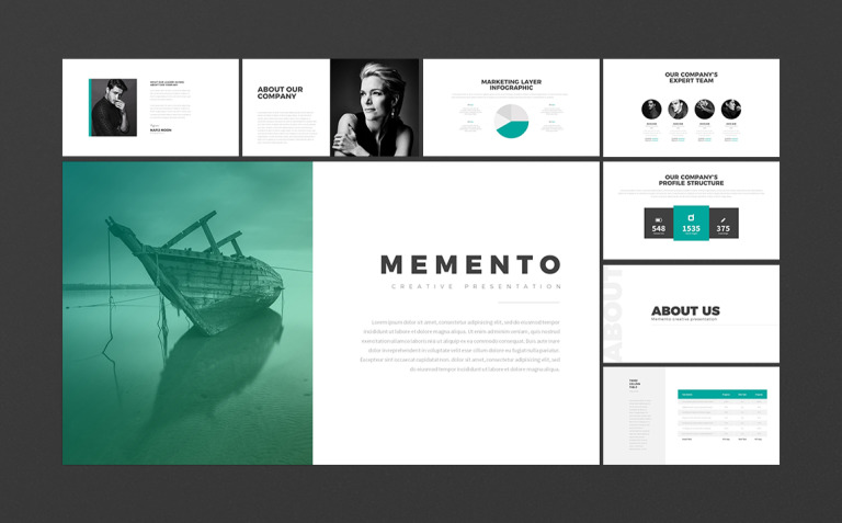 Memento | Powerpoint + Bonus New Screenshots BIG