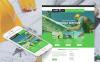Modèle Moto CMS HTML  pour société de toiture   New Screenshots BIG
