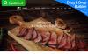 Responsive Moto CMS 3 Template over BBQ restaurant  New Screenshots BIG
