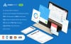 Шаблон для адмінки на тему бізнес послуги New Screenshots BIG