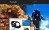 Scuba Diving X-Cart Template New Screenshots BIG