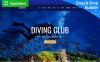 Tema Moto CMS 3 Responsive #63474 per Un Sito di Diving New Screenshots BIG