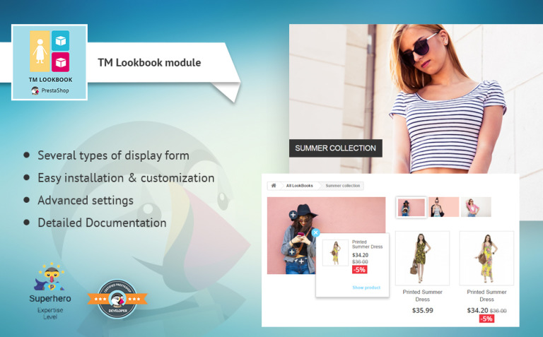 TM Lookbook PrestaShop Module New Screenshots BIG