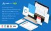 Üzleti szolgáltatások témakörű  Admin sablon New Screenshots BIG