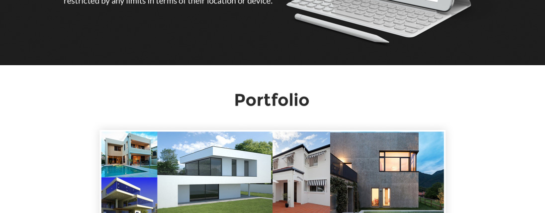 Exterior design website template 63507 for Exterior design templates