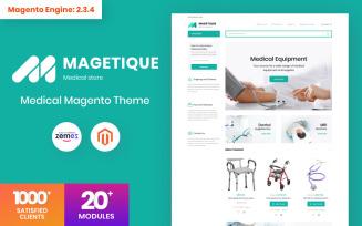 Magetique - Medical Equipment Magento Theme