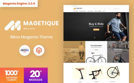Magetique - Bikes AMP Magento Theme
