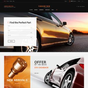 Screenshot of Spare Parts Parts Shop Car Spares