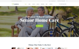 Cared4 - Senior Care WordPress Theme